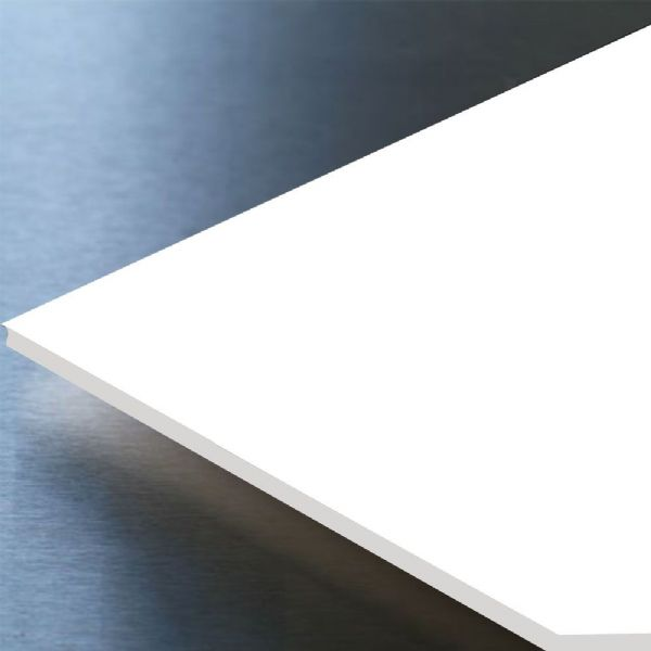 White Hygienic Wall Cladding | PVC | 2mm | 8 Foot | Satin White Finish